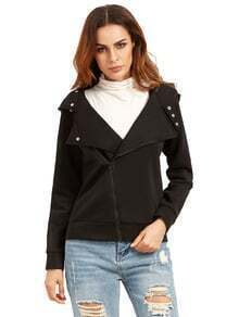 Slim fit Zip-up Hoodie Jacket