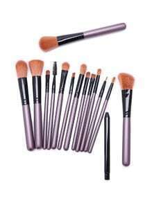 Set cepillos de maquillaje profesional