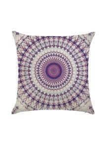 Flower Pattern Pillowcase Cover