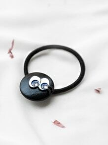 Black Eye Pattern Cute Hair Tie