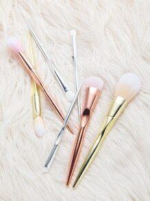 Cepillos de maquillaje 7pcs - multicolor