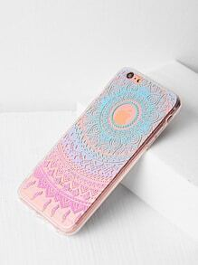 Tribal Pattern Clear iPhone 6 Plus/6s Plus Case