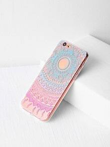Tribal Pattern Clear iPhone 6/6s Case