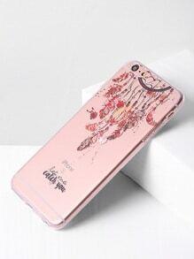 Clear Dreamcatcher Print iPhone 6 Plus/6s Plus Case