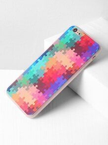 Multicolor Puzzle Print iPhone 6 Plus /6s Plus Case