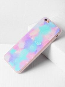 Watercolor And Letter Pattern iPhone 6 Plus/6s Plus Case