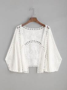 Embroidery Hollow Out Top