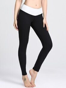 Leggins deportivos en color block