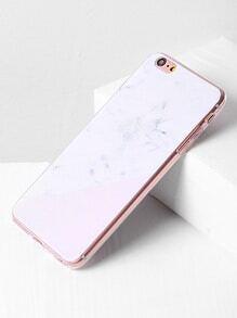 Marble Print Minimalist iPhone 6 Plus/6s Plus Case