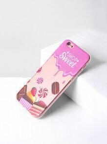 Cake Print iPhone 6/6s Case