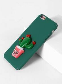 Funda para iPhone 6 Plus/6s Plus con diseño de cactus