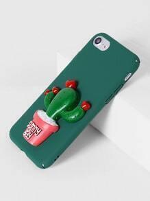 Funda para iPhone 7 con diseño de cactus