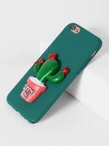 Funda para iPhone 6/6s con diseño de cactus