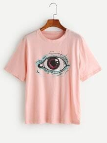 Eye Print Tee