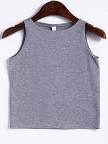 Round Neck Crop Top