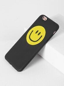 Funda para iPhone 6 Plus/6s Plus con estampado de emoji