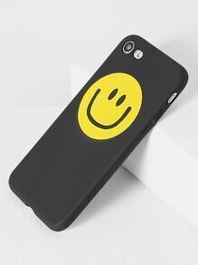 Funda para iPhone 7 con estampado de emoji