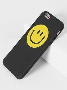 Funda para iPhone 6/6s con estampado de emoji