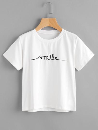 feba7c5ef Slogan t-shirts | ROMWE