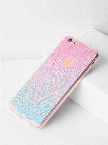 Ombre Geometric Pattern iPhone 6 Plus/6s Plus Case