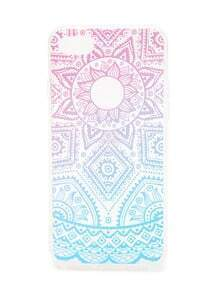 Ombre Geometric Pattern iPhone 7 Case