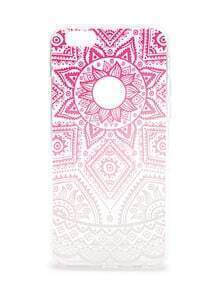 Ombre Tribal Pattern Clear iPhone 6/6s Case