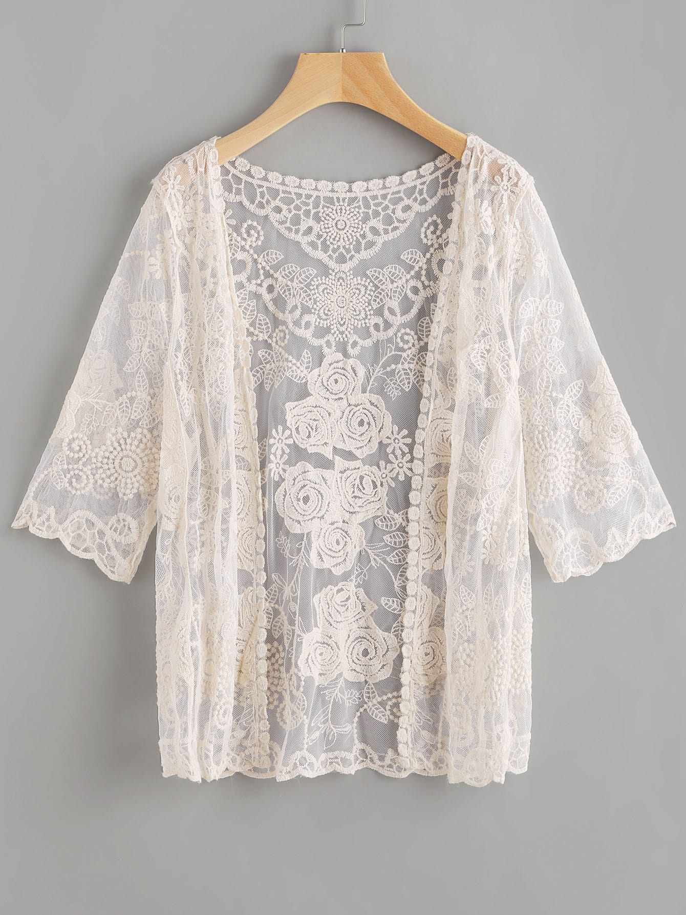 White Lace Shirts For Women