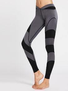Color Block Gym Leggings