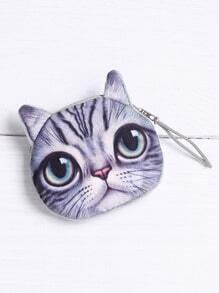 Katze geformte Münzen Geldbörse