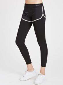 Active 2 In 1 Gym Leggings