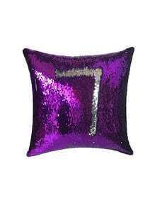 7 Design Sequin Cushion Cover