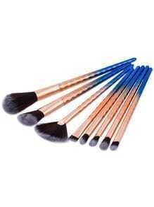 Diamond Textured Handle Makeup Brush Set