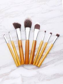 Contrast Bristle Makeup Brush Set