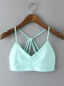 Strappy Back Sports Bra