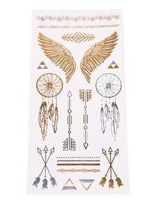 Dreamcatcher Tattoo Sticker