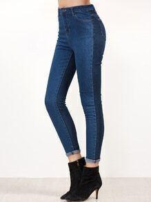 Kontrast Skinny Denim Jeans