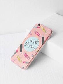 Multi Lipstick Print iPhone 6/6s Case