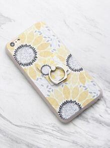 iPhone 6 Plus/6s Plus Case With Phone Holder Tempered Phone Film