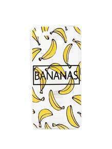 Multi Banana Print Soft iPhone 7 Case