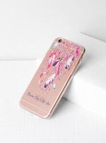 Dreamcatcher Print Clear iPhone 6/6s Case
