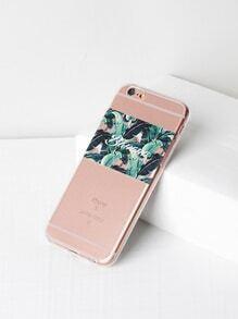 Jungle Print Soft iPhone 6/6s Case