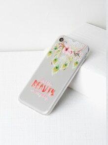 Dreamcatcher & Flower Print iPhone 7 Case