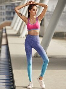 Active Ombre Seamless Gym Leggings