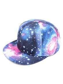 Gorra beísbol con estampado de galaxia