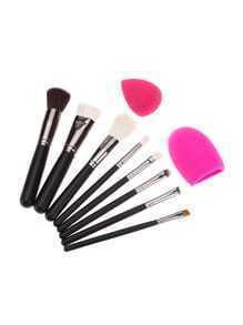 Sets de brocha de maquillaje 8 piezas y puff