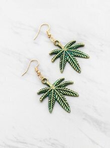 Palm Tree Shaped Earrings