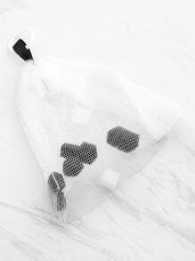 Facial Cleansing Foam Net With Sponge