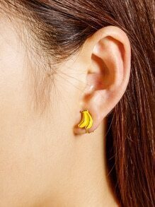 Banana Shaped Ear Cuff 1pcs