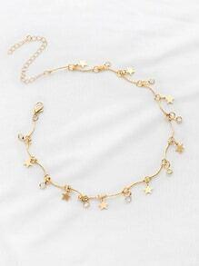 Stern-Detail-Halskette