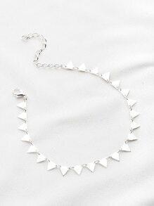 Geometric Triangle Bracelet